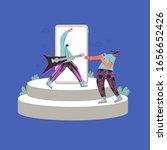 music challenge. band...   Shutterstock .eps vector #1656652426