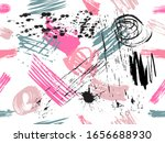 bright seamless pattern with... | Shutterstock .eps vector #1656688930