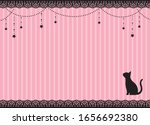 cat and star ornaments card   Shutterstock .eps vector #1656692380