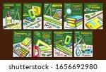 stationery shop advertising... | Shutterstock .eps vector #1656692980