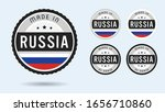 made in russia. set of labels...   Shutterstock .eps vector #1656710860