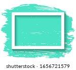 white frame and ink brush... | Shutterstock .eps vector #1656721579