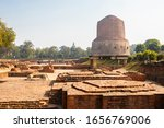 The Dhamekh Stupa  Which Can B...