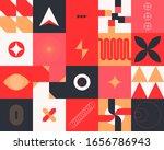 seamless geometric patterns... | Shutterstock .eps vector #1656786943