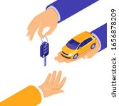 sale  purchase  rent car... | Shutterstock .eps vector #1656878209