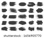 paint brush black box set.... | Shutterstock .eps vector #1656905770