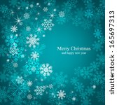 merry christmas and happy new...   Shutterstock .eps vector #165697313