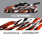 racing car wrap decal... | Shutterstock .eps vector #1656986299