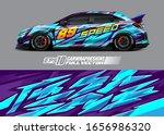 racing car wrap decal... | Shutterstock .eps vector #1656986320