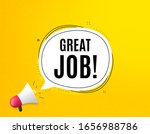 great job symbol. megaphone... | Shutterstock .eps vector #1656988786