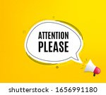 attention please. megaphone... | Shutterstock .eps vector #1656991180