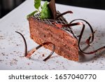The Sacher Cake  Sachertorte....