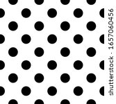 seamless pattern. big dots... | Shutterstock .eps vector #1657060456