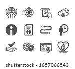 set of business icons  such as...   Shutterstock . vector #1657066543