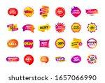 sale banner badge. special... | Shutterstock . vector #1657066990