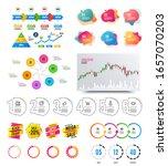 infographic elements. financial ...   Shutterstock . vector #1657070203