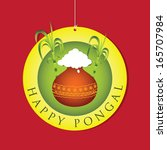 Happy Pongal - Pongal is a harvest festival celebrated in South India from January 13�16