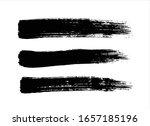 vector texture black ink paint... | Shutterstock .eps vector #1657185196