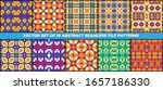 collection of patterns with...   Shutterstock .eps vector #1657186330