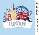 banner  label  logo with... | Shutterstock .eps vector #1657195519