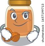 cool walnut butter mascot... | Shutterstock .eps vector #1657199713