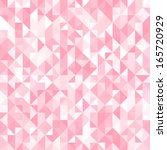 abstract crystal pink triangle... | Shutterstock .eps vector #165720929