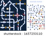 pattern and vector set details... | Shutterstock .eps vector #1657253110