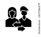 conversation black icon ...   Shutterstock .eps vector #1657266379
