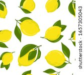 bright pattern with yellow... | Shutterstock .eps vector #1657305043