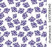 graphic butterfly digital... | Shutterstock . vector #1657308340