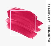 brush painted acrylic abstract...   Shutterstock .eps vector #1657359556
