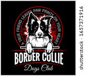 Border Collie   Vector...