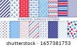 nautical seamless pattern....   Shutterstock .eps vector #1657381753