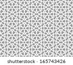 ornamental pattern. arabic... | Shutterstock .eps vector #165743426