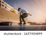 Photo 4  Landing . Young Skater ...