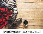 Hiking Boots  Binoculars  Shirt ...