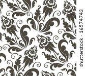 floral design. | Shutterstock .eps vector #16574743