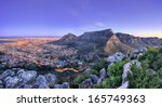 beautiful south africa's cape... | Shutterstock . vector #165749363