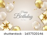 birthday background with... | Shutterstock .eps vector #1657520146