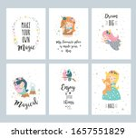 cute little fairies with baby... | Shutterstock .eps vector #1657551829