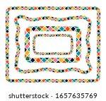 bright cartoon colorful vector...   Shutterstock .eps vector #1657635769