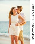 young couple in love ... | Shutterstock . vector #165771500