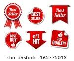 "collection of ""best seller""... | Shutterstock .eps vector #165775013"