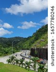 Small photo of PERAK, MALAYSIA, FEBRUARY 20 2020 : Menora Tunnel or Meru-Menora Tunnel is a highway tunnel in Perak, Malaysia. It is an 800-metre tunnel on the North–South Expressway Northern Route near Jelapang.