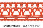 polish folk art vector cutout... | Shutterstock .eps vector #1657796440
