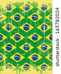 brazilian dirty poster. a... | Shutterstock .eps vector #165782024
