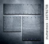 metal background | Shutterstock . vector #165782708