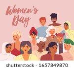 international women's day... | Shutterstock .eps vector #1657849870