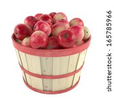 Wooden Barrel With Apples