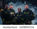 Group Picture Of Firefighters...